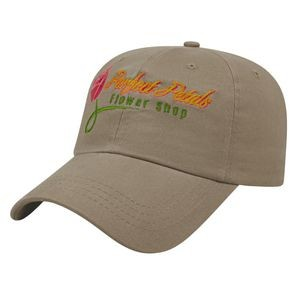 Unstructured Low Profile Cap
